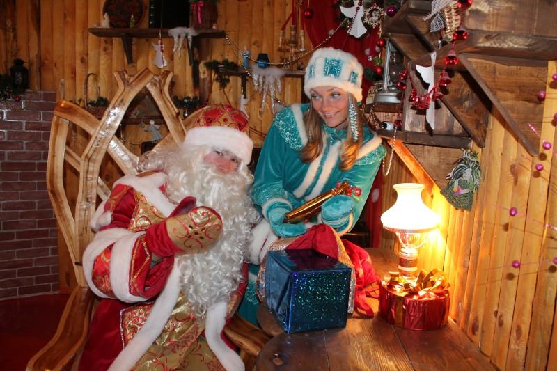Новогодний подарок лично от Деда Мороза